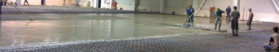 сухие смеси и бетонные полы