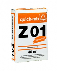 Z 01 Цементный раствор