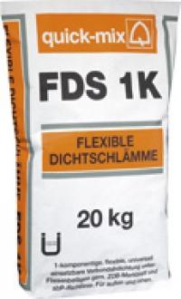FDS 1K Эластичный гидроизоляционный раствор-шлам