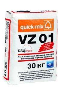 V.O.R. Кладочный раствор для лицевого кирпича - Зимний VZ 01 - Зимний